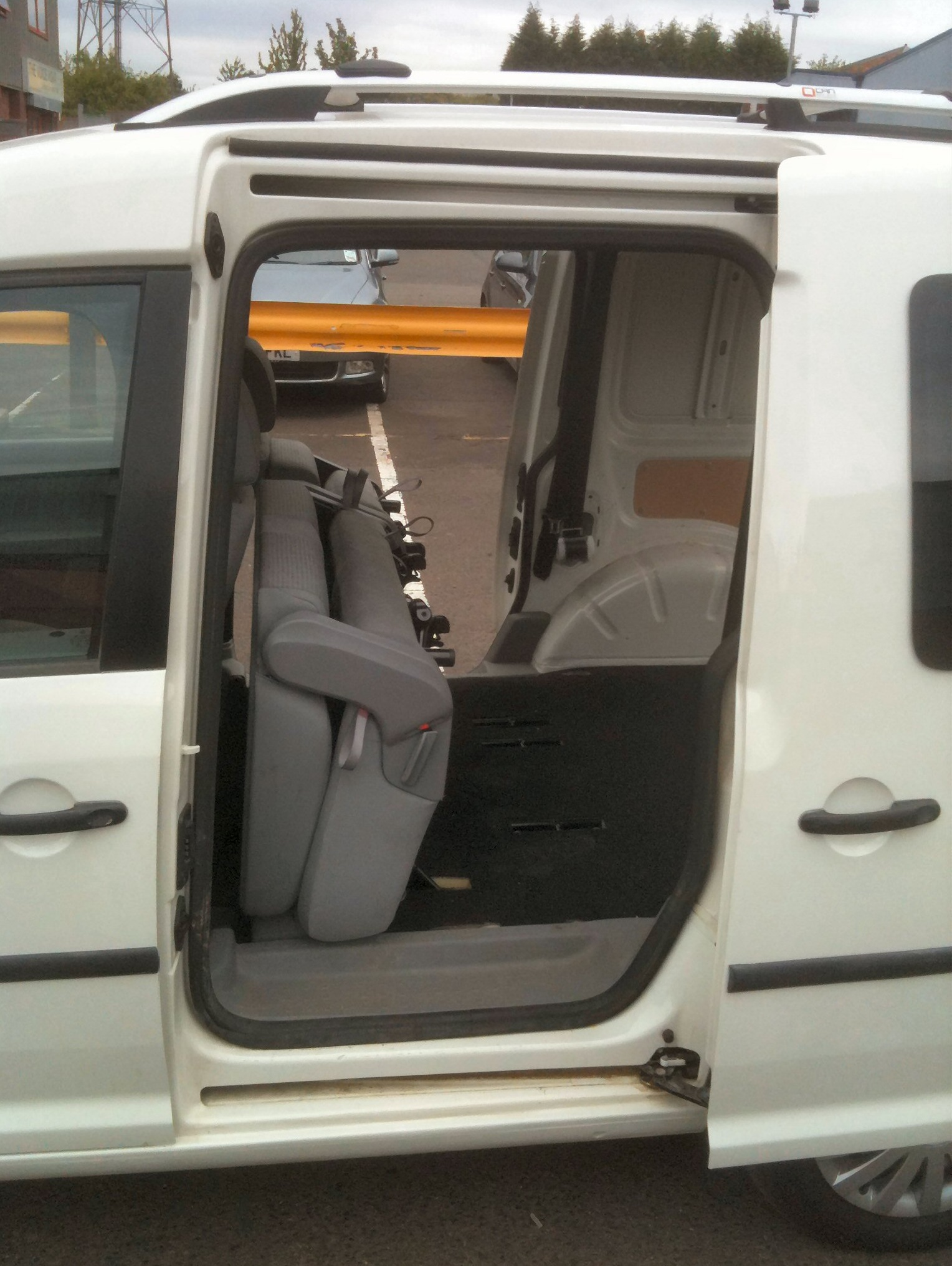 Vw Caddy Conversion Vw Caddy Rear Seat Van Conversion