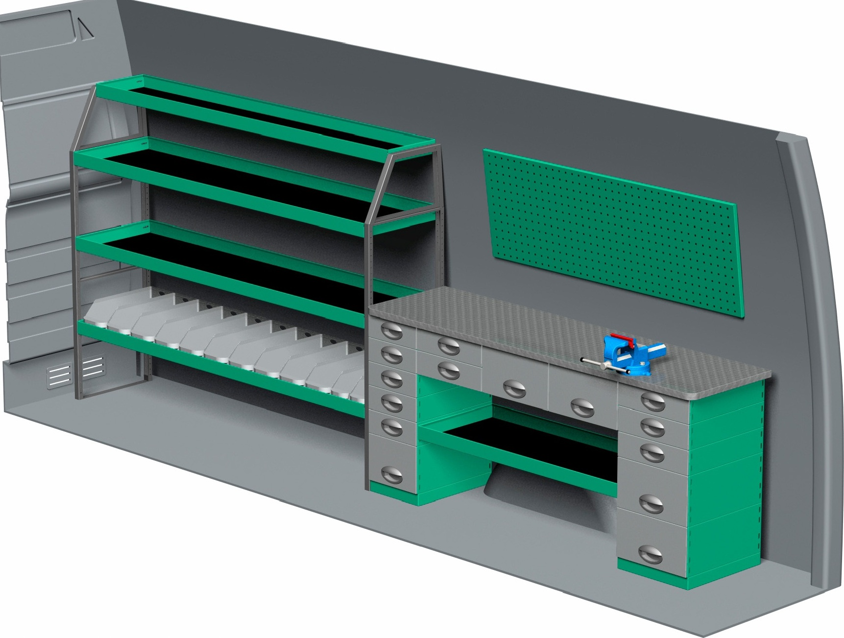Edstrom Metal Shelving Fast Fit Nationwide