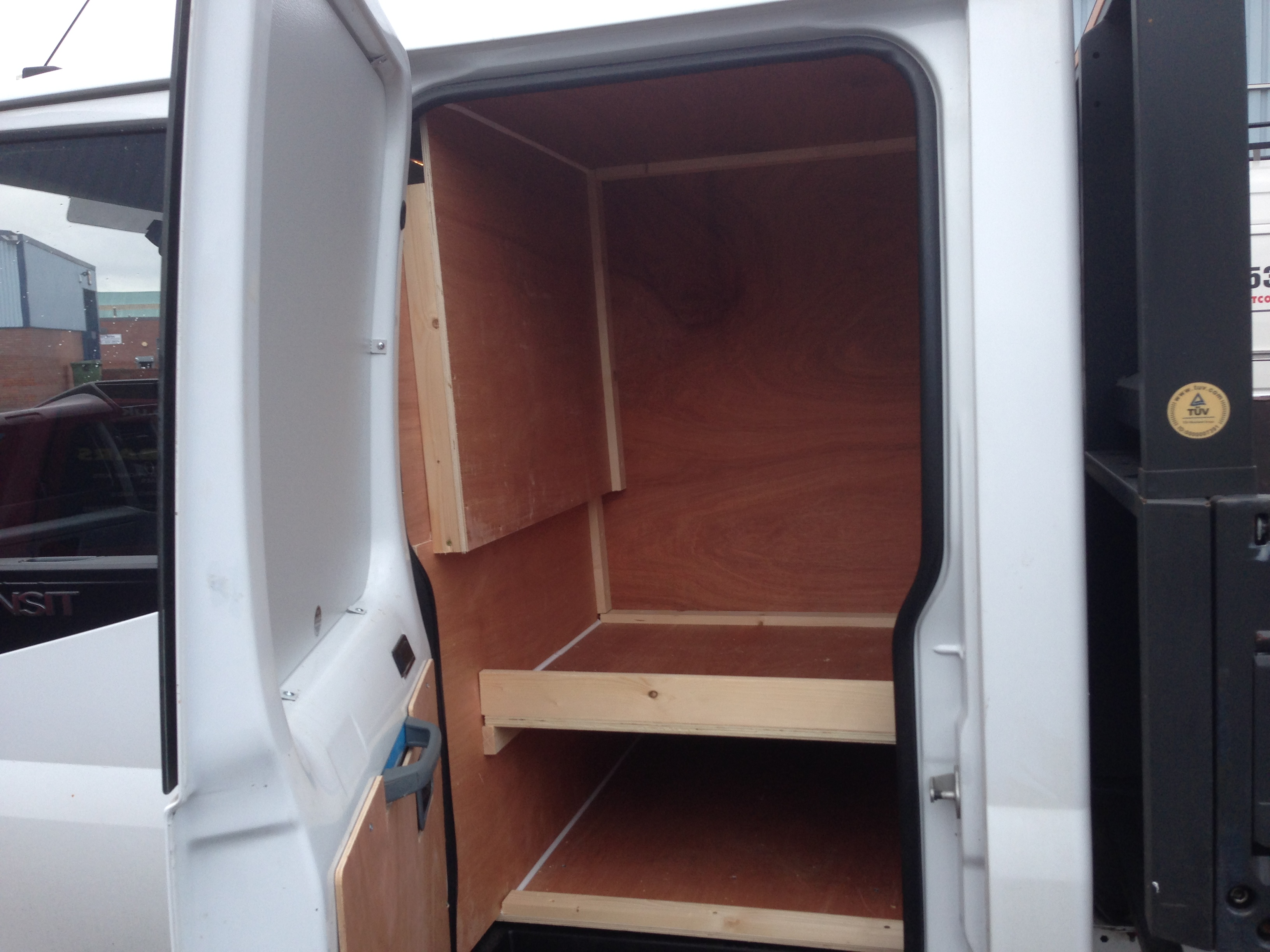 Ford Transit Double Cab Fast Fit Nationwide