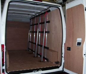 Fleet Glass Racks For Vans Glass Frails Fast Fit