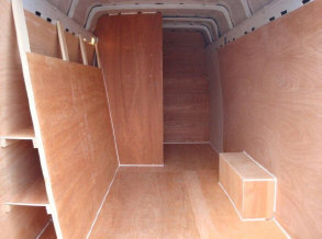 Custom Van Plylining