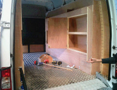 Ply Racking And Shelving Van Plylining Fast Fit Nationwide